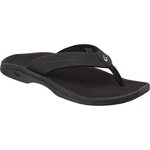 (オルカイ) Olukai レディース シューズ・靴 サンダル 'Ohana Flip Flop 並行輸入品  新品【取り寄せ商品のため、お届けまでに2週間前後かかります。】 表示サイズ表はすべて【参考サイズ】です。ご不明点はお問合せ下さい。 カラー:Black/Black