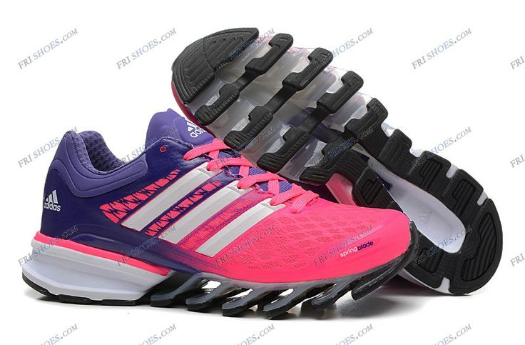 adidas 2014 springblade ii pink purple womens running