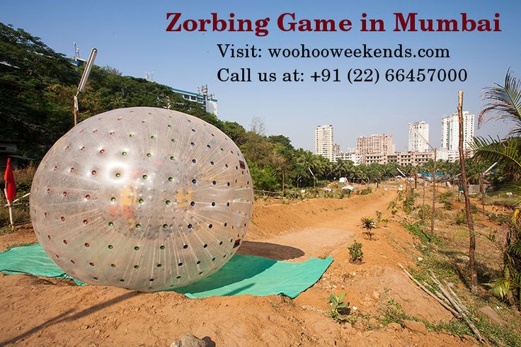 Experience most craziest and bouncy game Zorbing in Mumbai. Roll down on the grassy slopes and experience craziest ride!
