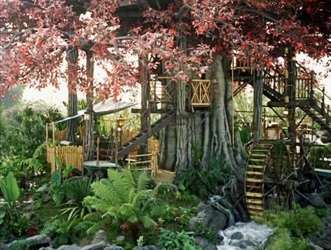 The original swiss family treehouse the disney sophisticate treasure isla - Robinson crusoe style ...