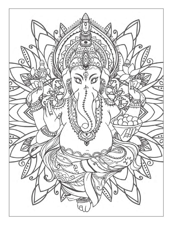177 best images about coloring books on pinterest for Yoga coloring pages