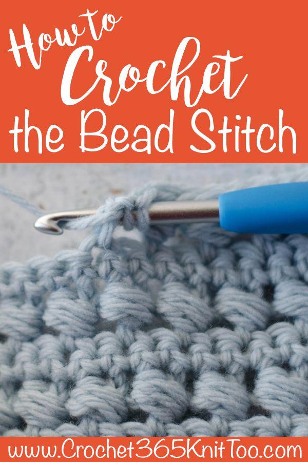 Crochet Bead Stitch Tutorial