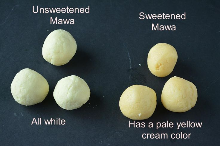 how to make mawa from milk powder