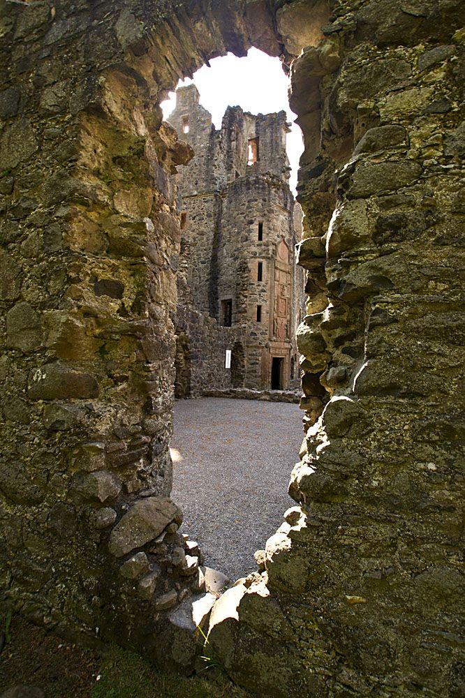 Huntly Castle Ruins...Aberdeen Scotland.
