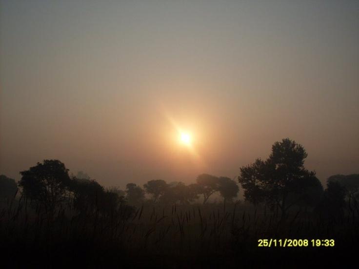 Sunrise in Shimla