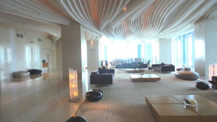Lobby at the Hilton Pattaya in Thailand - Hotel Review by Wilson Travel Blog