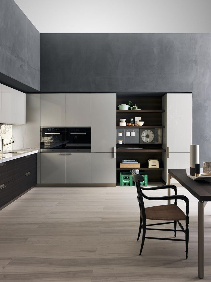 Dada indada kitchen designed by nicola gallizia sophisticated modern look that introduces new finishes and materials