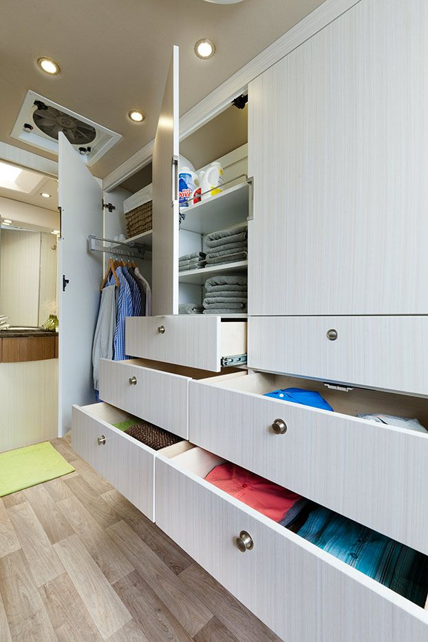 The Free Spirit SS Features Industry Leading Interior Storage. From The  Pull Out