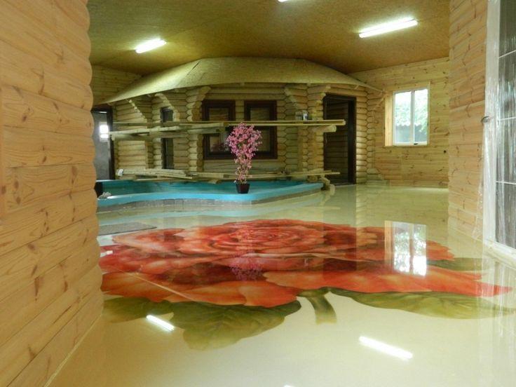 Декоративные наливные полы в сан гидроизоляция в гараже виды