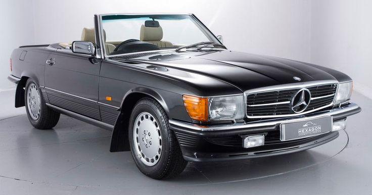 Timewarp 1989 Mercedes 500SL Has Less Than 1,000 Miles On It #Classics #Mercedes