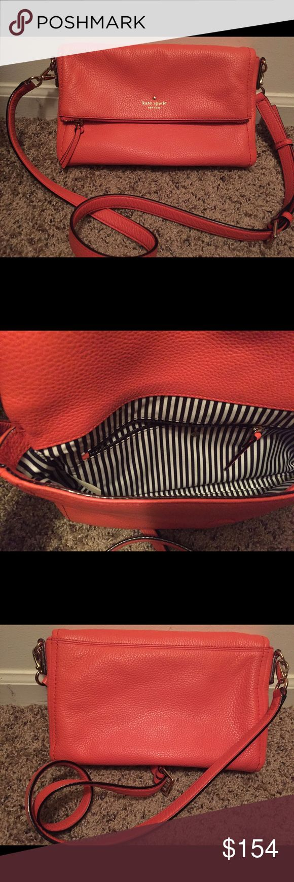 Kate Spade New York Cobble Hill Marsala Kate Spade New York Cobble Hill Marsala in Bright Papaya. Excellent condition! Barely worn, just a little too bright for me. Goes with so much year round! Comes with dust bag. Purchased from Kate Spade online. kate spade Bags Crossbody Bags