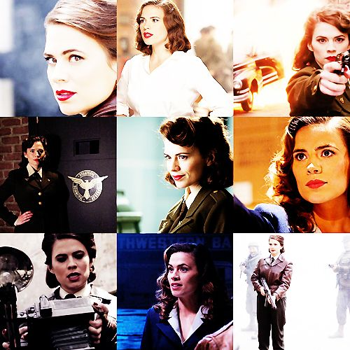 Peggy Carter || 500x500 || #fanedit