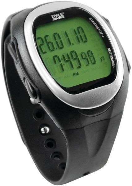 pyle - speed & distance watch for running, jogging & walking