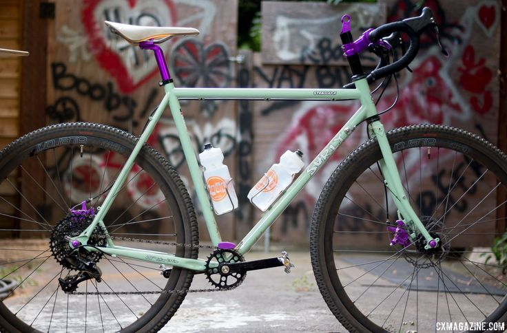 Our purple Paul-dressed Surly test <b>bikes</b> with Tall and Handsome ...