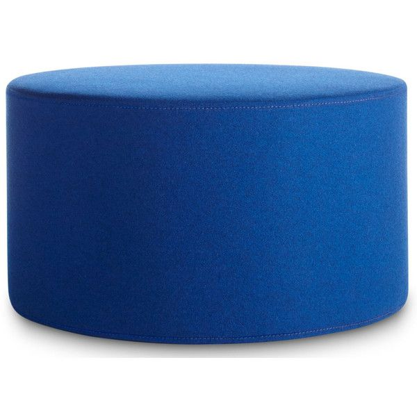 Blu Dot Bumper Large Ottoman ($299) ❤ Liked On Polyvore Featuring Home,  Furniture