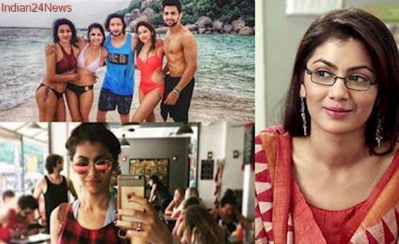 Kumkum Bhagya's 'Pragya' Sriti Jha sizzles in a bikini as she vacations with boyfriend, see pics