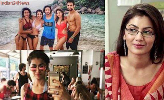 Kumkum Bhagya's 'Pragya' Sriti Jha sizzles in a bikini as she vacations with boyfriend, see pics