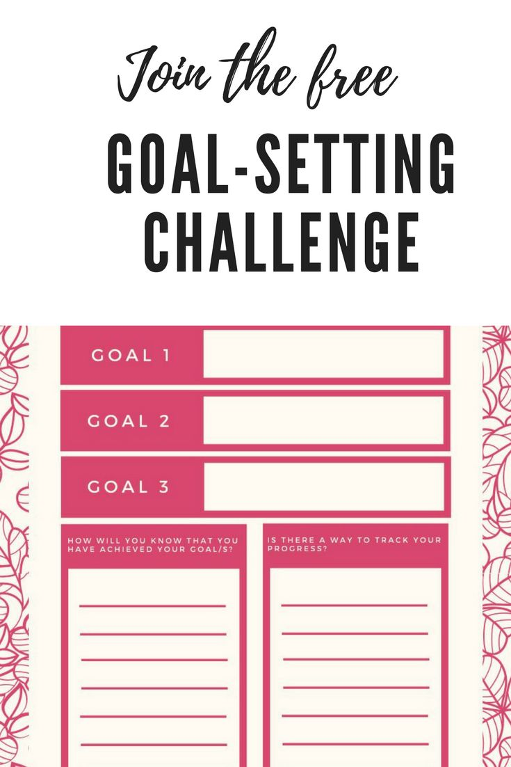 Join the free goal-setting challenge