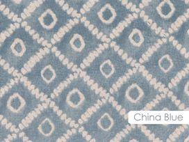 Jaipur Geometric - China Blue