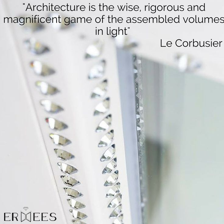 """Architecture is the wise, rigorous and magnificent game of the assembled volumes in light""  Le Corbusier  With ARTE by Ermees the #window becomes the main character.  Arte gives new decorative interpretations to #space, following your passions.  Every #design inspiration and #style can be realized, giving life to texture ad hoc for unique windows, worldwide."