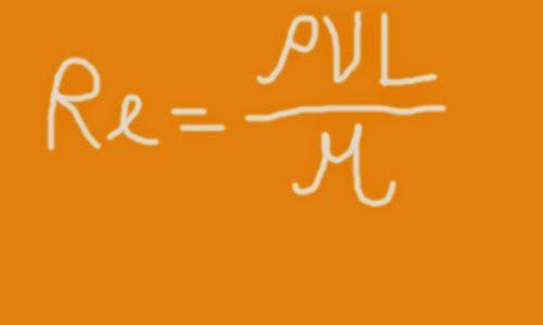 Dimensionless groups in fluid mechanics reynolds number