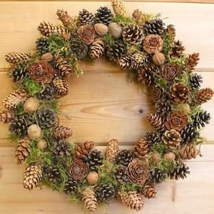 pine cone wreath by nihat.varli1