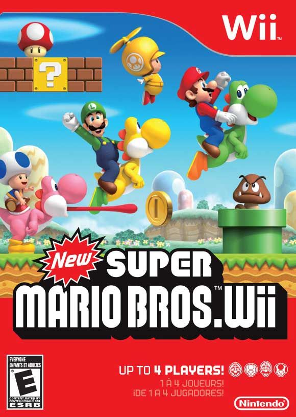New Super Mario Bros. Wii Nintendo WII Game