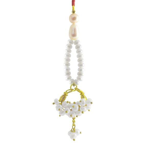 Jpearls Designer Fresh Water Pearl Lumba  #rakshabandhan #jewellery #rakhigifts #rakhis #brother