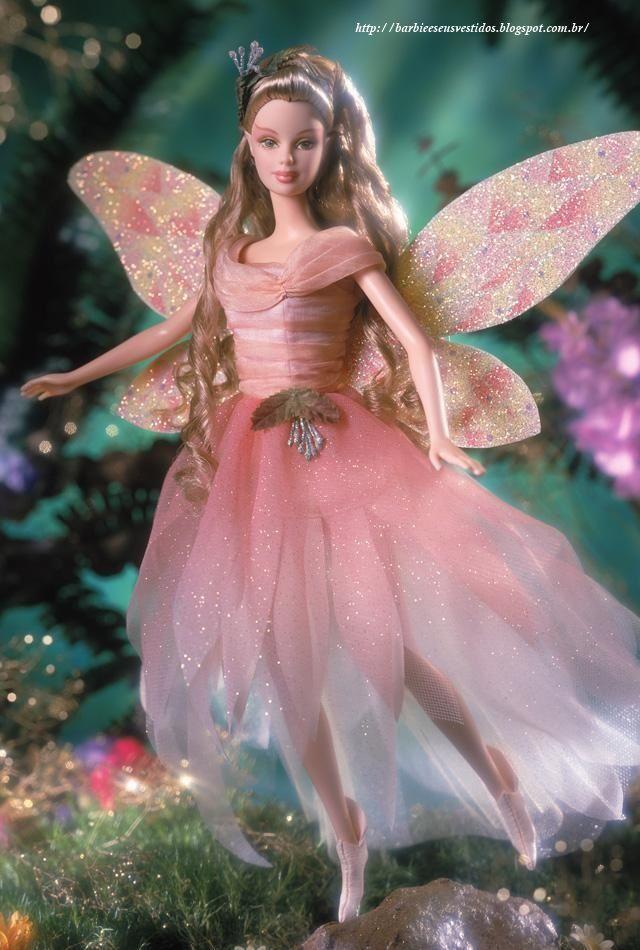 Barbie E Seus Vestidos: 2001 - Fairy Of The Garden™ Barbie® Doll