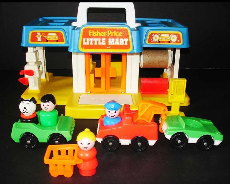 Little People Gas Station Car Wash