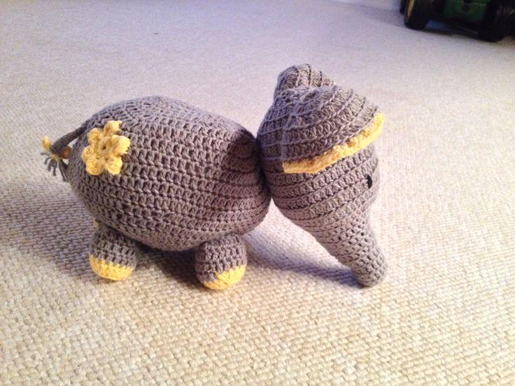 En lille elefant kom til verden :-)