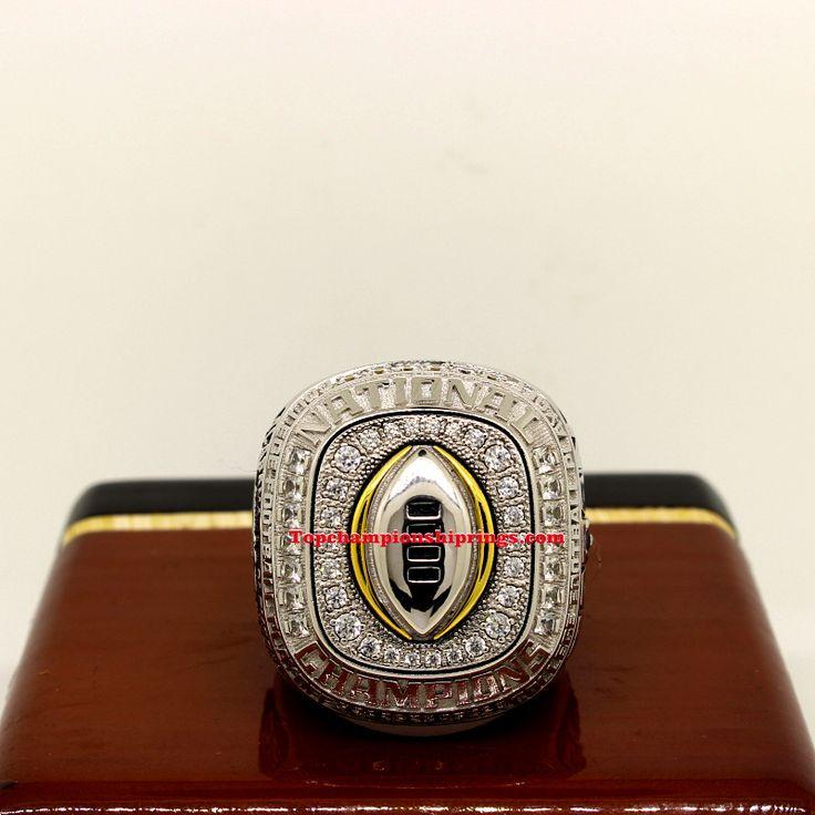 2016 Alabama Crimson Tide NCAA CFP National Championship Rings