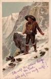 postcard of andreas hofer, peasant rebellion leader.