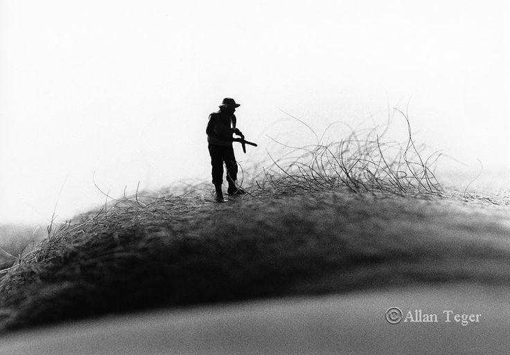 Bodyscape Hedge Trimmer By Allan Teger  Allan Teger Art -4362