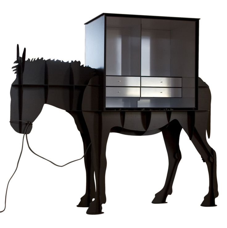 Martin By Ibride: A Domesticated Donkey Cabinet Makes A