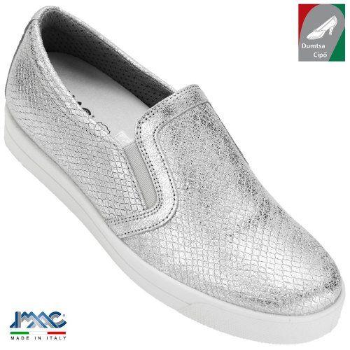 8cc63042a4 Imac női bőr cipő 107010 74405/018 ezüst/szürke   Dumtsa Cipő ekkor ...