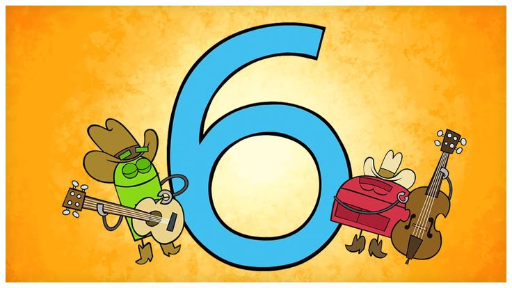 """The Number Six,"" Number Songs by StoryBots. So catchy!"