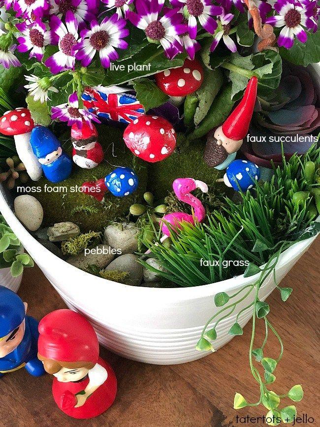 Kids Craft - Make a DIY Fairy Gnome Garden! Imagination