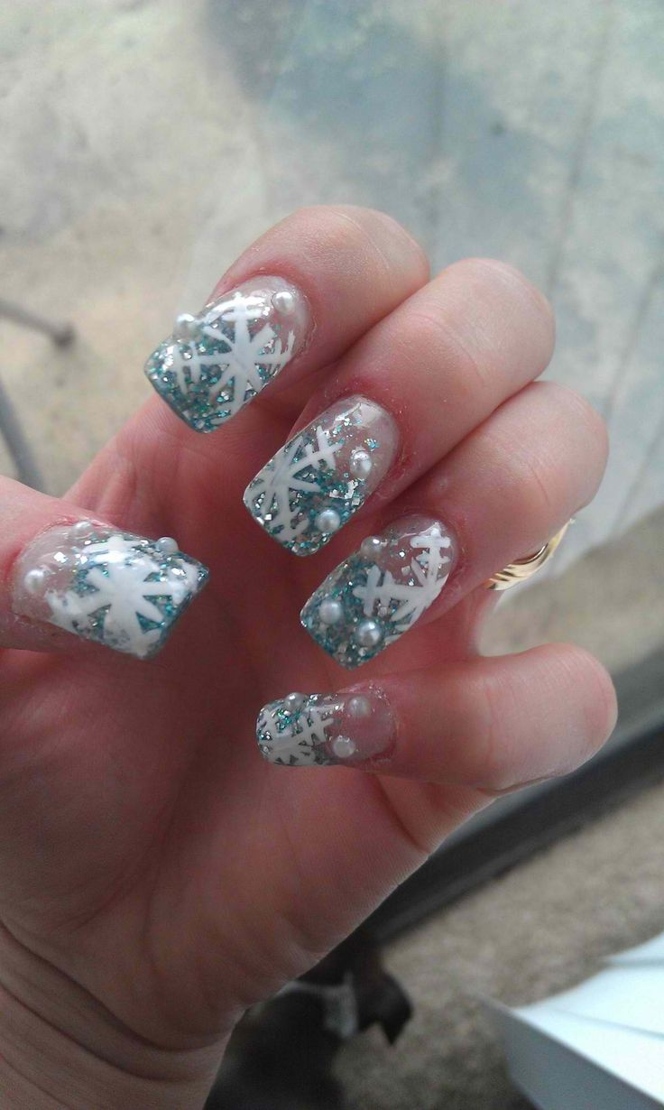 Christmas acrylic nails | Nails^_^ :p | Pinterest