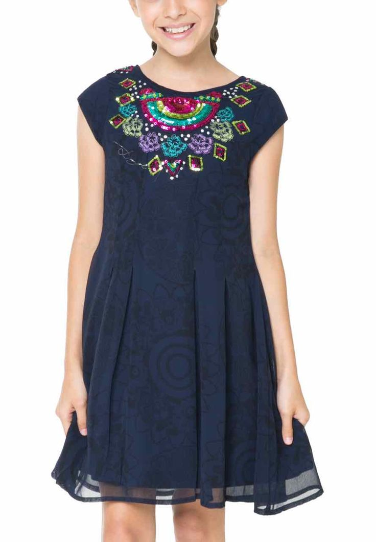 61V32A7_5000 Desigual Girl Dress Yuande