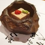 八馬 - 料理写真:くるみ豆腐の先付け
