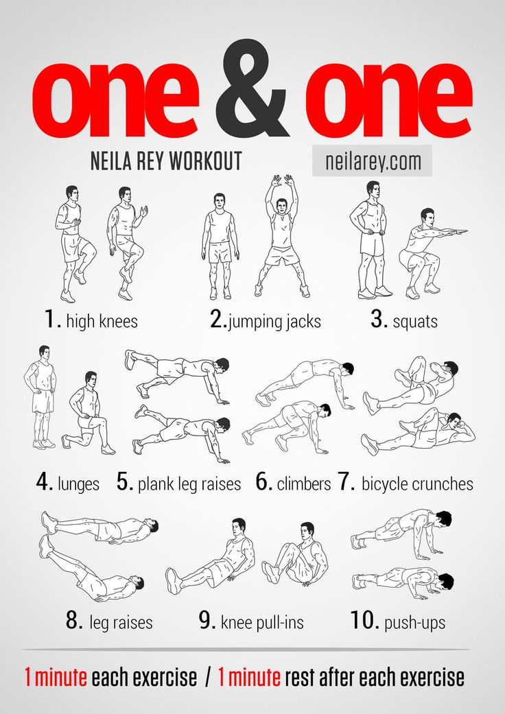 One & One Workout. This Is A Total Body HIIT Workout. It Works Your Aerobic & Cardiovascular Systems. Trains Your Arms, Legs, Glutes & Abs.