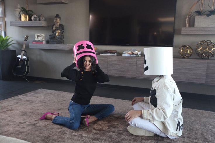 Selena Gomez with Marshmello