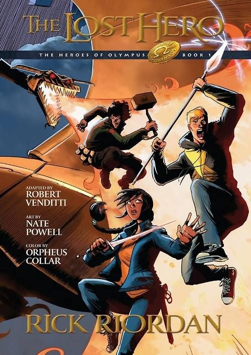 the Lost Hero graphic novel is coming out October 7. I had ...