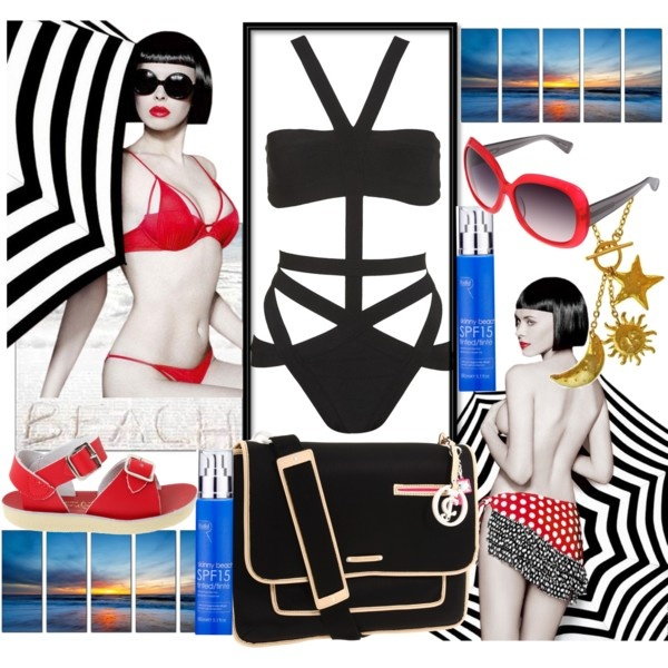 Life's A Beach, created by lindacaricofe on Polyvore: Life A Beaches