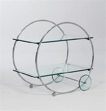 A serving trolley by BRUNO PAUL
