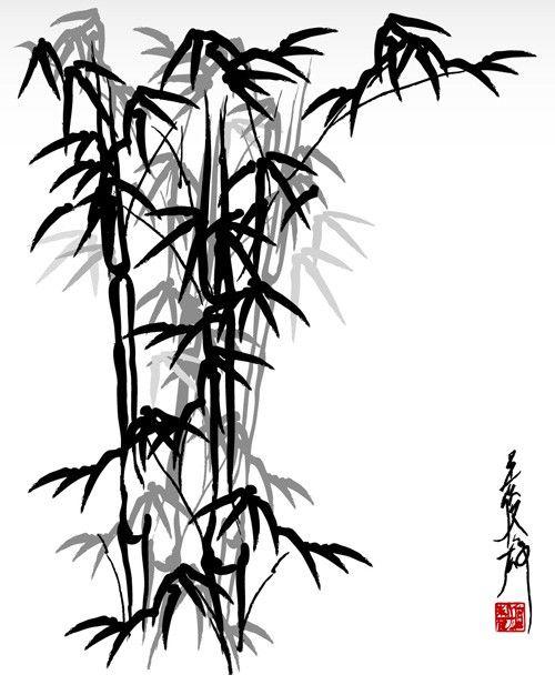 274 mejores im genes sobre modelos en pinterest dibujo for Color bambu pintura