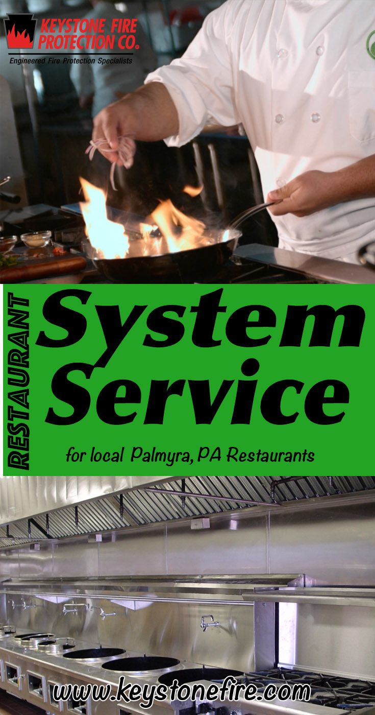 Restaurant System Service Palmyra, PA (215) 641-0100 We're Keystone Fire Protection. Call Today and Discover the Complete Source for all Your Fire Protection!