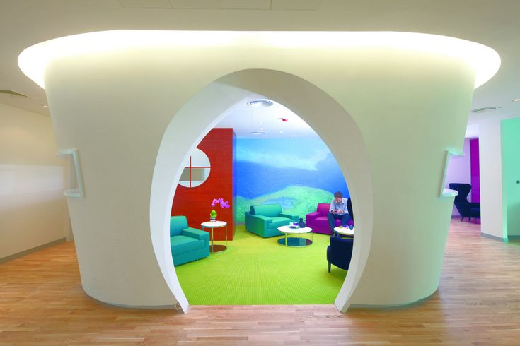 Zain's Colorful Bahrain Headquarters