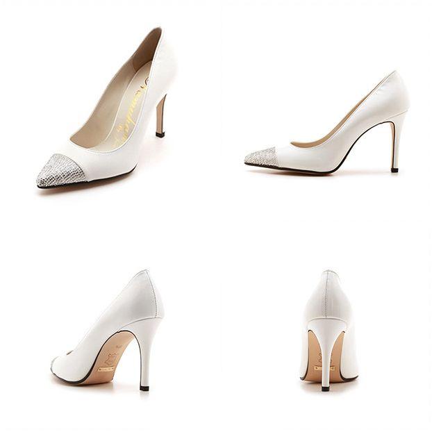 #namuhana #fashion #trend #designer #handmade #wedding #bridal #shoes #jewelry #captoe #pumps #white #NW013WH #패션 #트렌드 #디자이너 #슈즈 #나무하나 #수제화 #구두 #웨딩 #신부 #결혼 #웨딩슈즈 #주얼리 #캡토 #펌프스